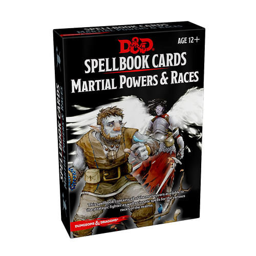Dungeons and Dragons: Spellbook Cards - Martial Powers and Races (61 karet)