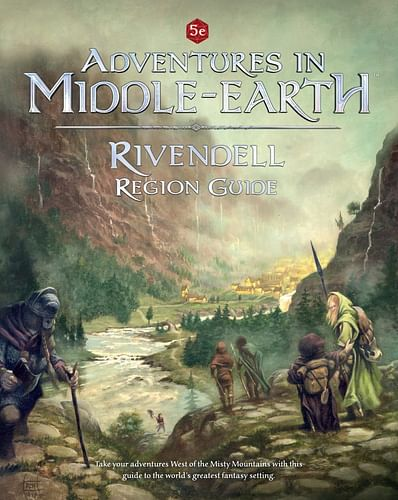Dungeons & Dragons 5e: Adventures in Middle-Earth Rivendell Region Guide