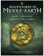 Dungeons & Dragons: Adventures in Middle-Earth The Eaves of Mirkwood & Loremasters Screen (Fifth Edition)