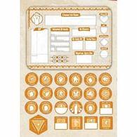 Dungeons & Dragons - Monk Token Set