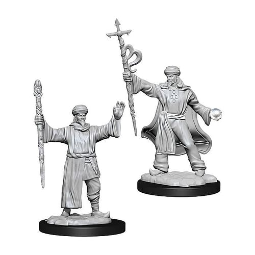 Dungeons & Dragons Nolzur s Marvelous Miniatures - Human Wizard Male