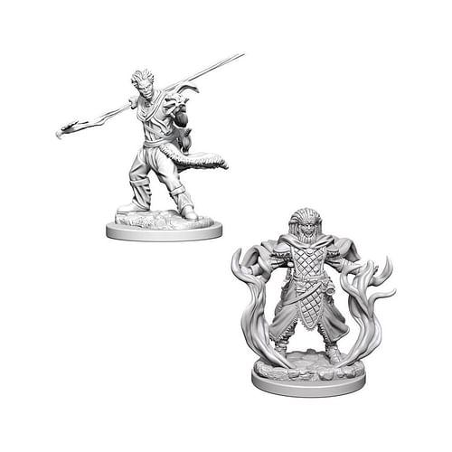 Dungeons & Dragons: Nolzur s Miniatures - Human Male Druid
