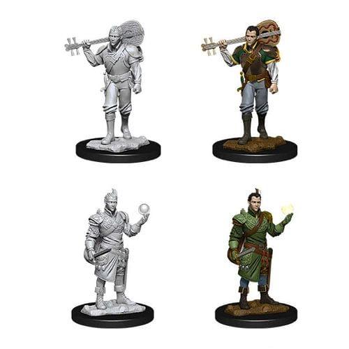 Dungeons & Dragons: Nolzur s Miniatures - Male Half-Elf Bard