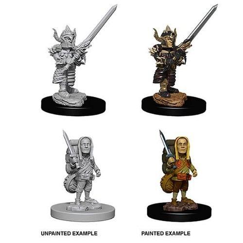 Dungeons & Dragons: Nolzur s Miniatures - Male Halfling Fighter