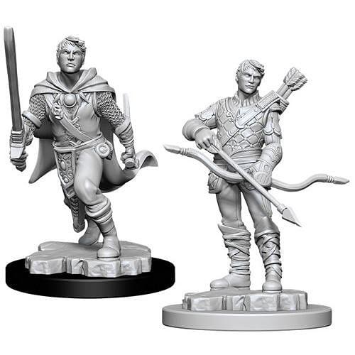 Dungeons & Dragons: Nolzur s Miniatures - Male Human Ranger