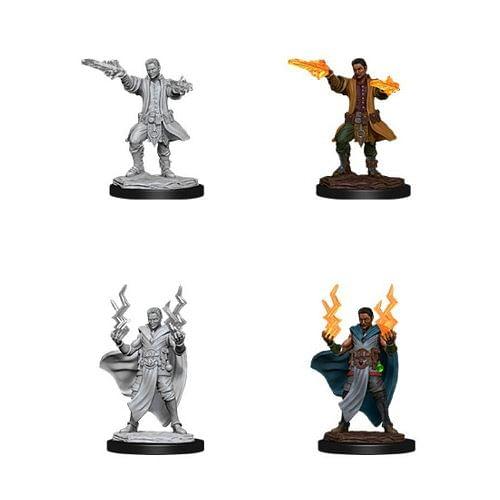 Dungeons & Dragons: Nolzur s Miniatures - Male Human Sorcerer