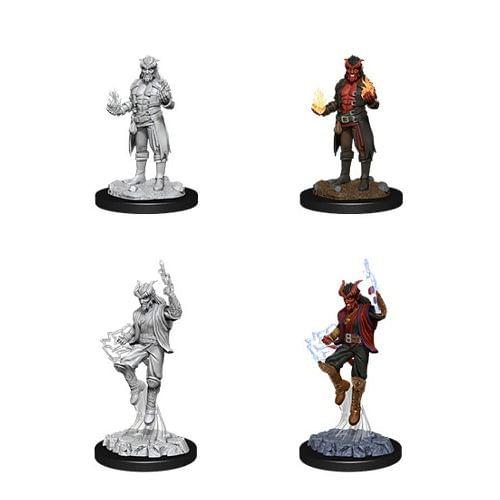 Dungeons & Dragons: Nolzur s Miniatures - Male Tiefling Sorcerer