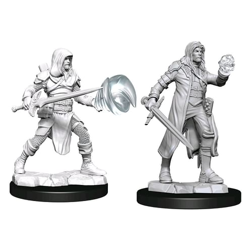 Dungeons & Dragons Nolzur s Miniatures - Multiclass Fighter & Wizard Male