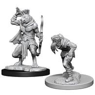 Dungeons & Dragons: Nolzur's Miniatures - Wererat & Weretiger