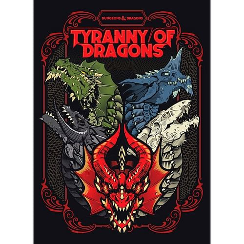 Dungeons & Dragons RPG - Tyranny of Dragons (alternate cover)