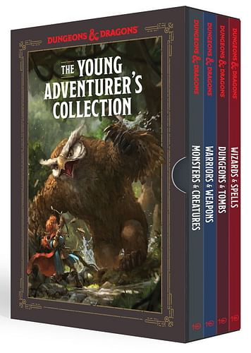 Dungeons & Dragons: The Young Adventurer's Collection (4 knihy)