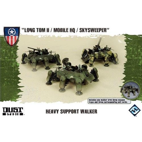 Dust Tactics: Allies Heavy Support Walker
