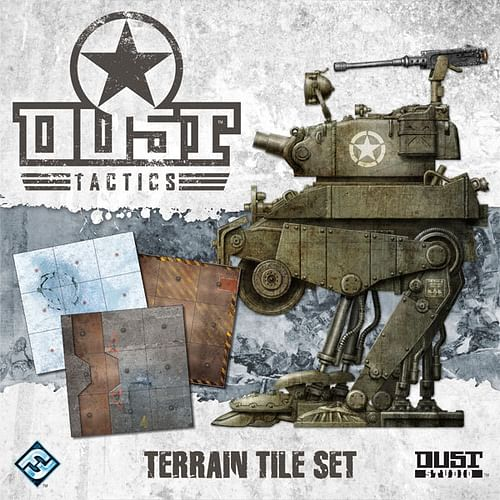 Dust Tactics: Terrain Tile Set