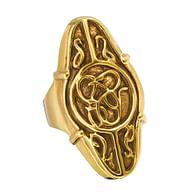 Elrondův prsten - zlatá barva