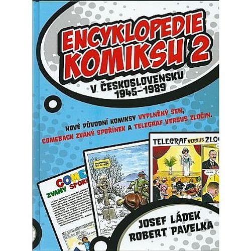 Encyklopedie komiksu v Československu 1945-1989 2. díl