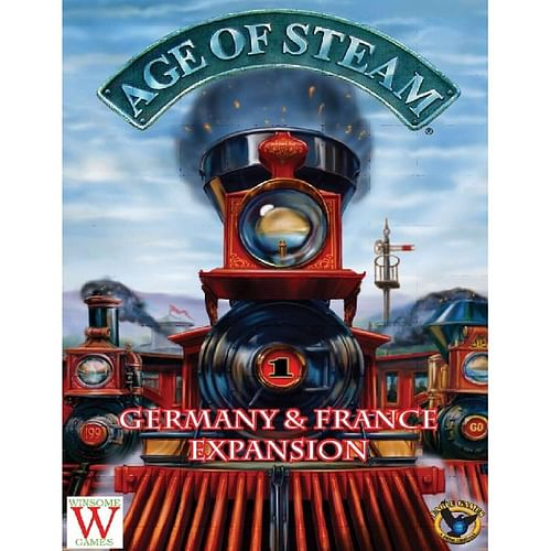 Age of Steam Expansion: Germany and France