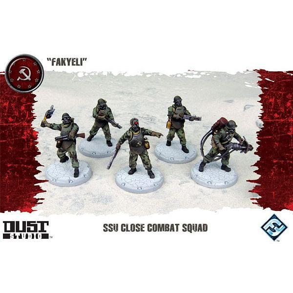 Dust Tactics: SSU Close Combat Squad - Fakyeli