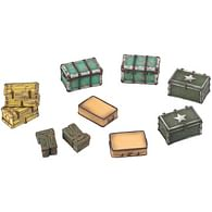 Fallout: Wasteland Warfare - Terrain Ex.: Cases and Crates