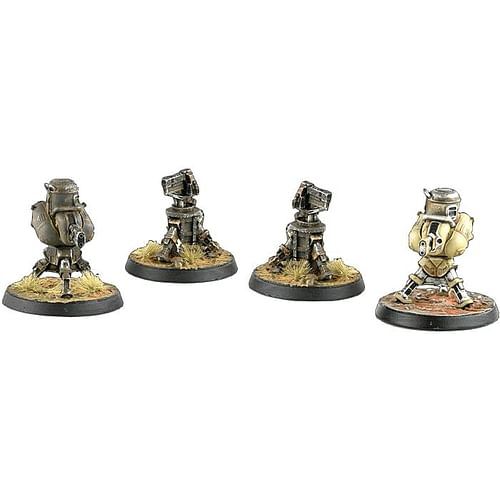 Fallout: Wasteland Warfare - Terrain Expansion: Turrets