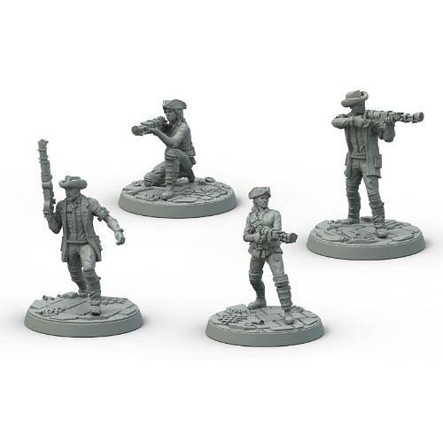 Fallout: Wasteland Warfare - Survivors: Minutemen Pose