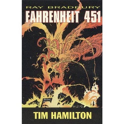 451 stupňů Fahrenheita - komiks