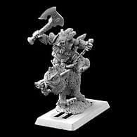 Figurka Durthen, trpasličí berserker na kanci