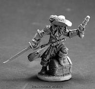 Figurka kapitán Razig, nemrtvý pirát