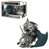 Figurka Pán prstenů - Witch King & Fellbeast Funko Pop!
