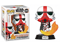 Figurka Star Wars: Mandalorian - Incinerator Stormtrooper Funko Pop!