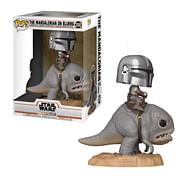 Figurka Star Wars: Mandalorian on Blurg Funko Pop!