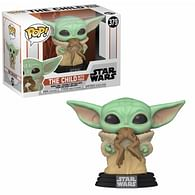 Figurka Star Wars: Mandalorian - The Child with Frog Funko Pop!