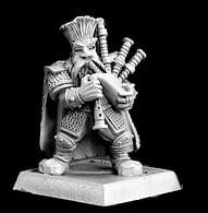 Figurka trpaslík - bard