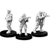 Figurky Cyberpunk Red RPG - Lawmen Command