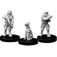 Figurky Cyberpunk Red RPG - Lawmen Enforcers