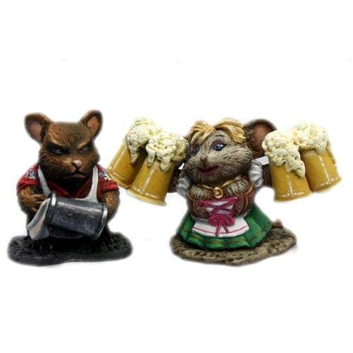 Figurky - myší hospodští