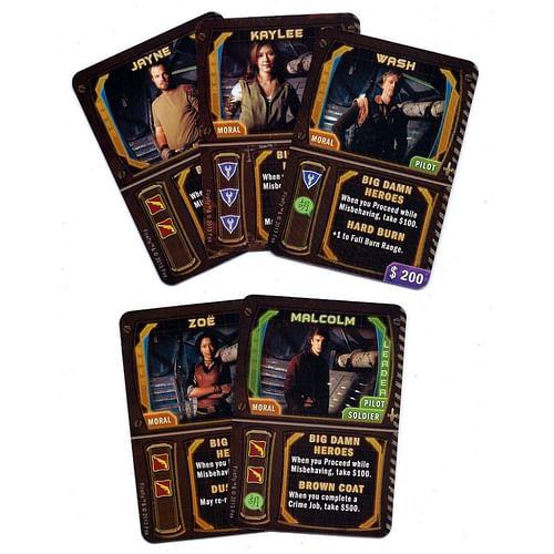 Firefly: Big Damn Heroes Card Set