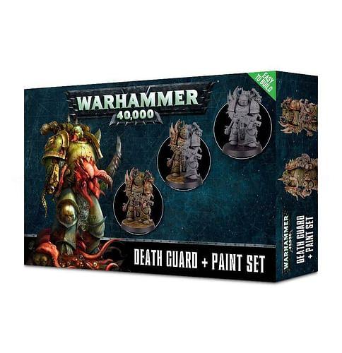 Warhammer 40000: Death Guard + Paint Set