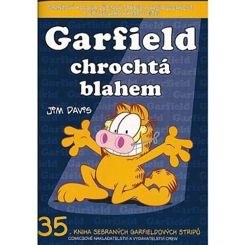 Garfield chrochtá blahem