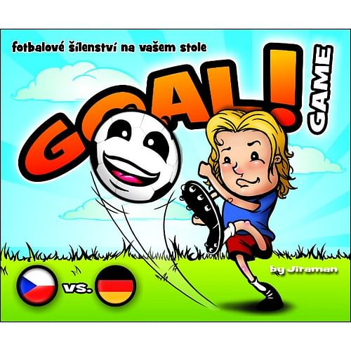 Goal! game CZE + GER