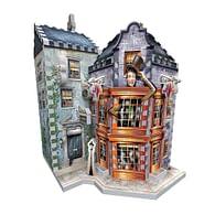 Harry Potter 3D Puzzle: Kouzelnické kejkle a Denní věštec, 285 dílků