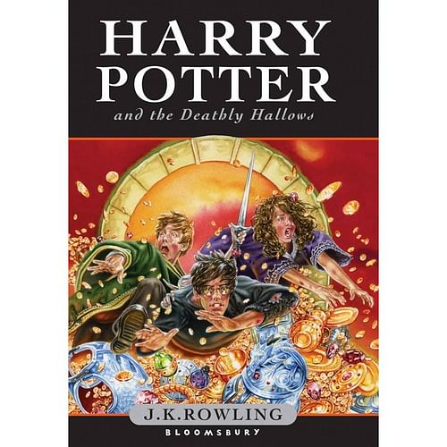 Harry Potter and the Deathly Hallows (vázaná)