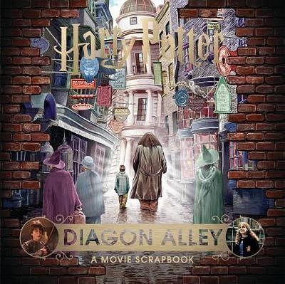 Harry Potter - Diagon Alley: A Movie Scrapbook - kolektiv autorů