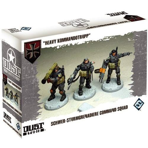 Dust Tactics: Heavy Kommandotrupp