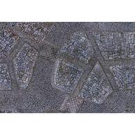 Herní podložka Kraken Wargames - Cobblestone City