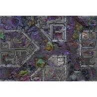 Herní podložka Kraken Wargames - Corrupted Warzone City