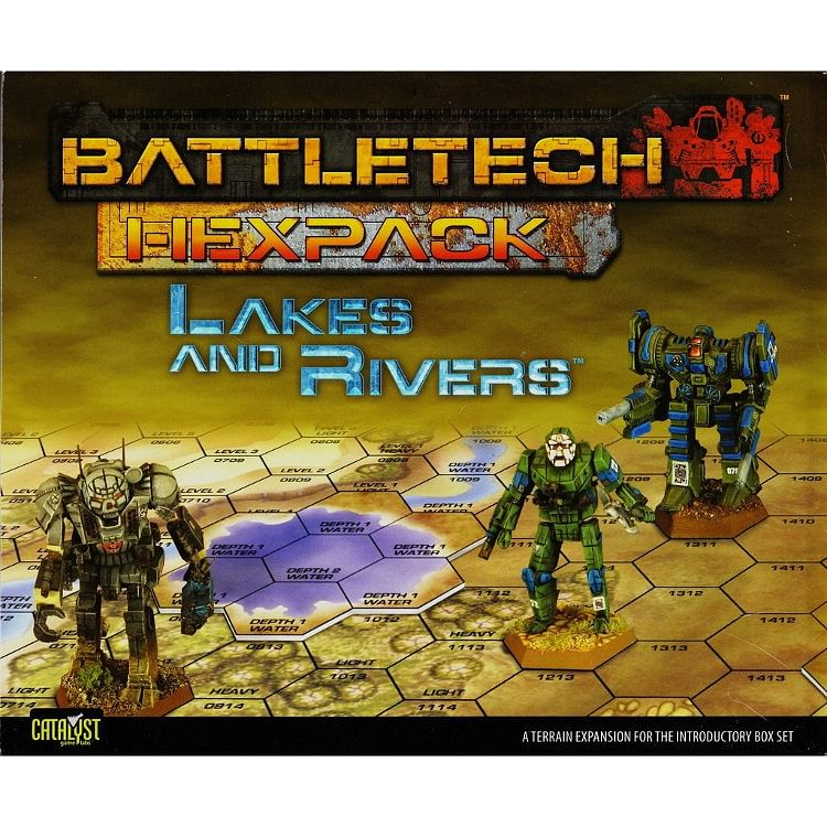 Battletech Hexpack: Lakes and Rivers