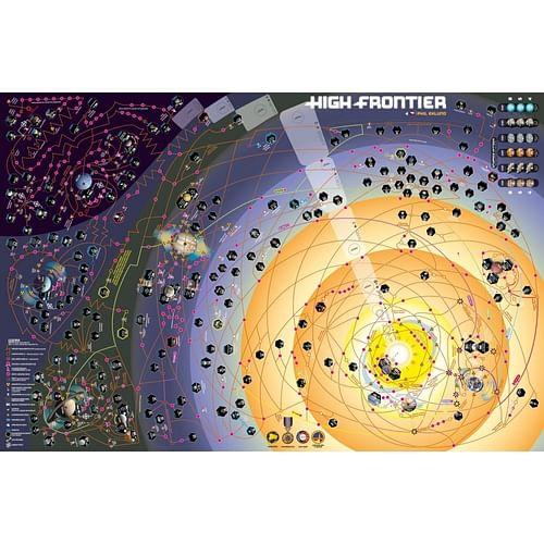 High Frontier 4. edice: Neoprenová mapa
