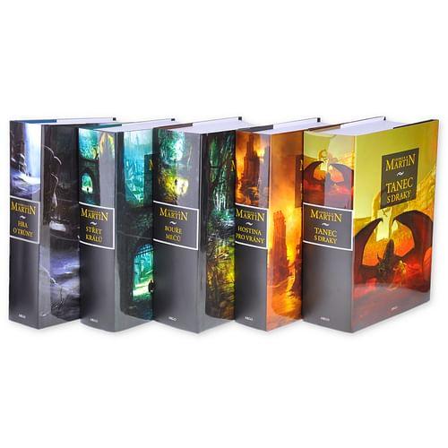 Hra o trůny - komplet 5 knih (vázané) - George R. R. Martin