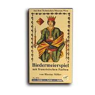 Hrací karty Biedermeierspiel