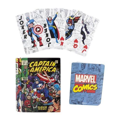 Hrací karty Captain America